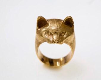 Cat head ring