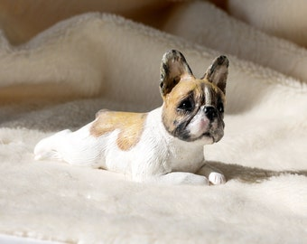 Custom dog figurines made in polymer clay -French Bulldog, Frenchie - miniature figurine of your Dog - please note there is a waiting list.