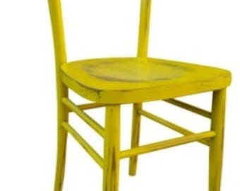 wooden chair model milano vintage antivato
