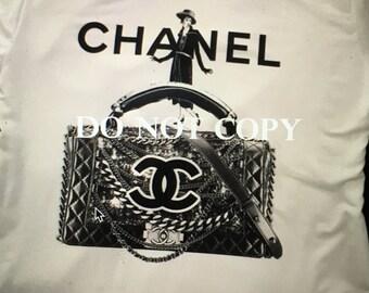 Chanel Purse like T-shirt