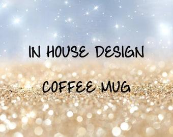 In House Design on Coffee Mug