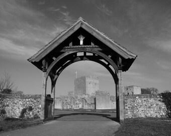"Portchester Castle ""Arch Way"""