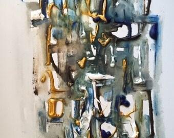Zuni - Original Acrylic painting on canvas
