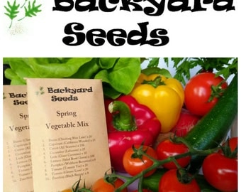 Spring Vegetable Seed Collection
