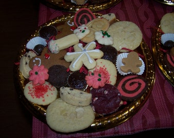COOKIES cookie tray(23sweets)/baked goods/homemade christmas/food gifts/homebaked/sweets, GIFT, holiday cookies,party