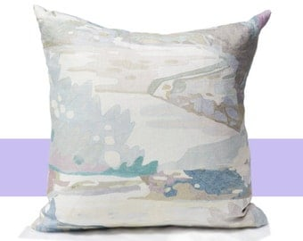 Watercolor Pillow Covers - Colorful Decorative Pillow