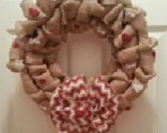 Clearance - Valentines Wreath