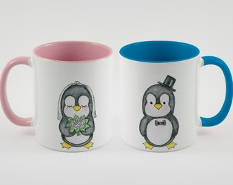 Mr. & Mrs. Penguins mug