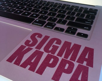Sigma Kappa Block Decal