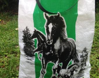 Horse Feed tote bag