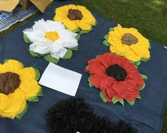 Sunflowers, Daisys and Poppies