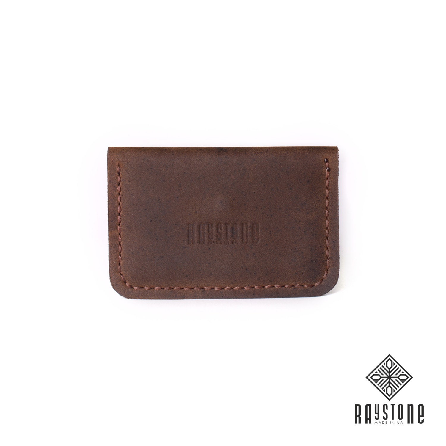 Leather Card Holder 705 - Brown Leather Card Wallet, Leather ...