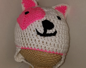 puppy character hat