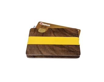 Wooden Wallet, Card Holder