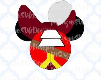Captain Hook Mouse Head SVG,EPS,PNG,Studio