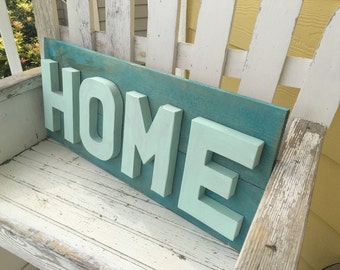 Rustic Home Sign - Home Sign - Rustic Home Decor - Mothers Day -