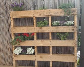 Vertical Garden Planter. 100% Australian made cafe or home décor. For an array of herbs, blooms, flowers.