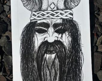 Cursed Nordic Warrior (Original)