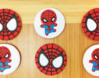 Spider-man Sugar Cookies