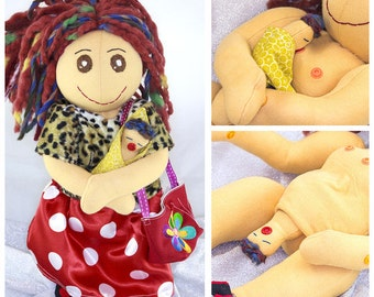 "Birthing Doll ""Nettie"""