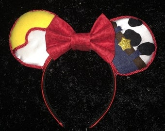 Jessie and Woody Toy Story Inspired Disney Mouse Ears