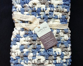 Crochet Baby Blanket- Country Side