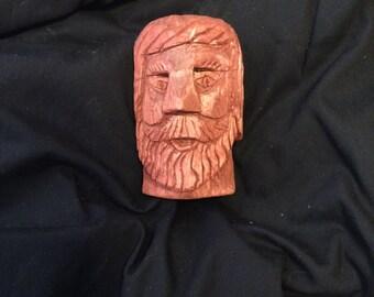 Hand carved woodsman