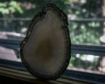Agate Slice Grey