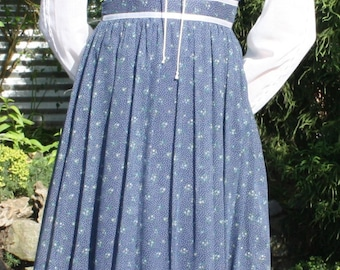 Vintage 70's Gunne Sax Original Prairie Boho Maxi Dress
