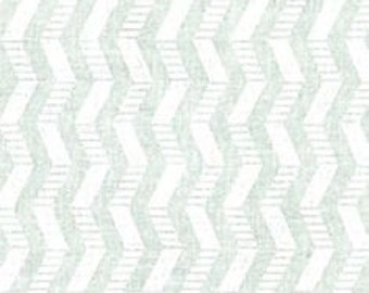 BTHY - WHITE on WHITE Patterned Chevron by Quilter's Showcase, Striped white Chevron and Plain White Chevron, by the Half Yard