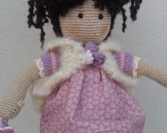 Nicole doll amigurumi