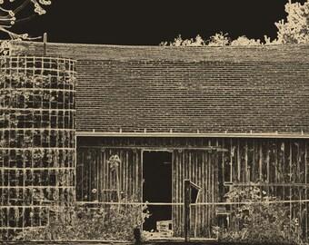 Barn outline