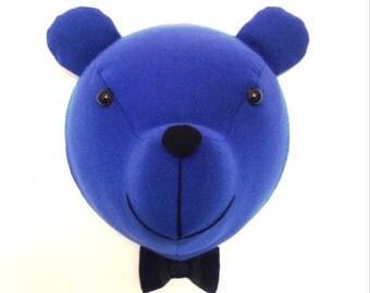 Bear head. Faux taxidermy, wall mount