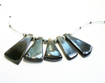 Modern ceramics in Vallauris necklace