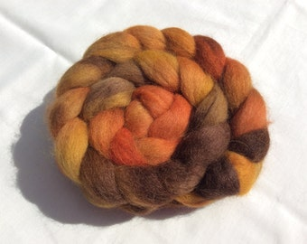 Hand dyed Alpaca tops