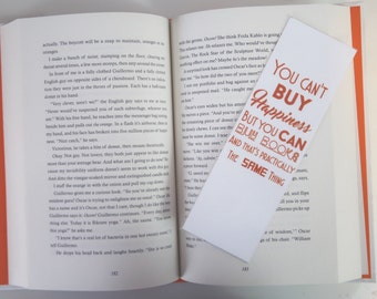 Can't Buy Happiness Bookmark
