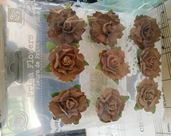9 piece prima flower set