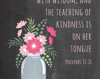 Proverbs 31 Wisdom Magnet
