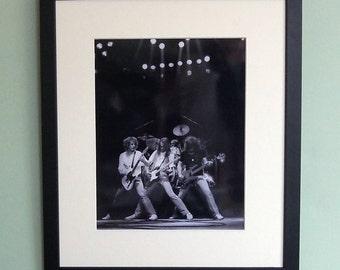 Status Quo framed 8' x 10' photo