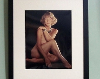Helen Mirren framed 8' x 10' photo