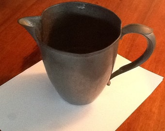 Vintage Ray Silver Co. Pewter Pitcher