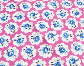 Shabby Chic CATH KIDSTON FABRIC Fat Quarter - Provence Rose Pink - 50cms x 46cms