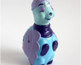 80's Tonka Keypers - Tortoise Sheldon Bubble Bath Bottle - RARE
