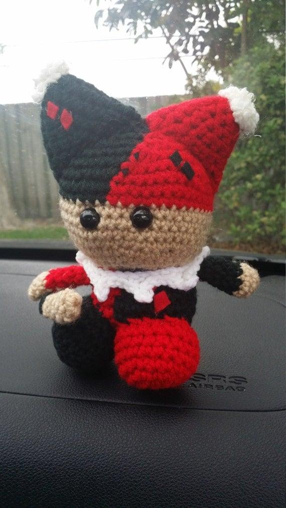 Items similar to Harley Quinn Amigurumi Plush / Stuffed ...