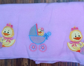 Embroidered Baby Blanket #3150