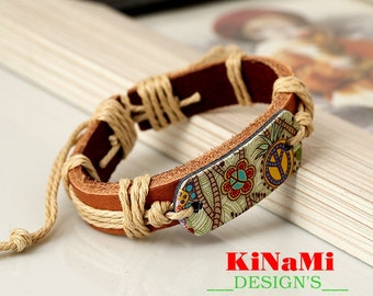 Leather Bracelet Women Casual Personality Rope