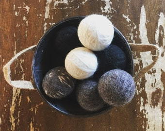 Eco Friendly Wool Dryer Balls (Set of 3)