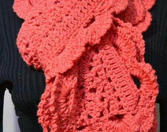 Crochet scarf  Women Scarf  Scarf  Very  Long Scarf