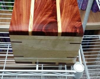 Cedar and Maple Box
