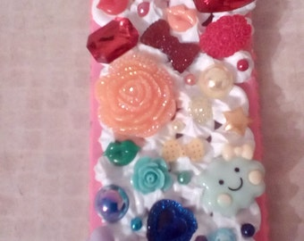 Handmade decoden case for iPod touch 6 ombre